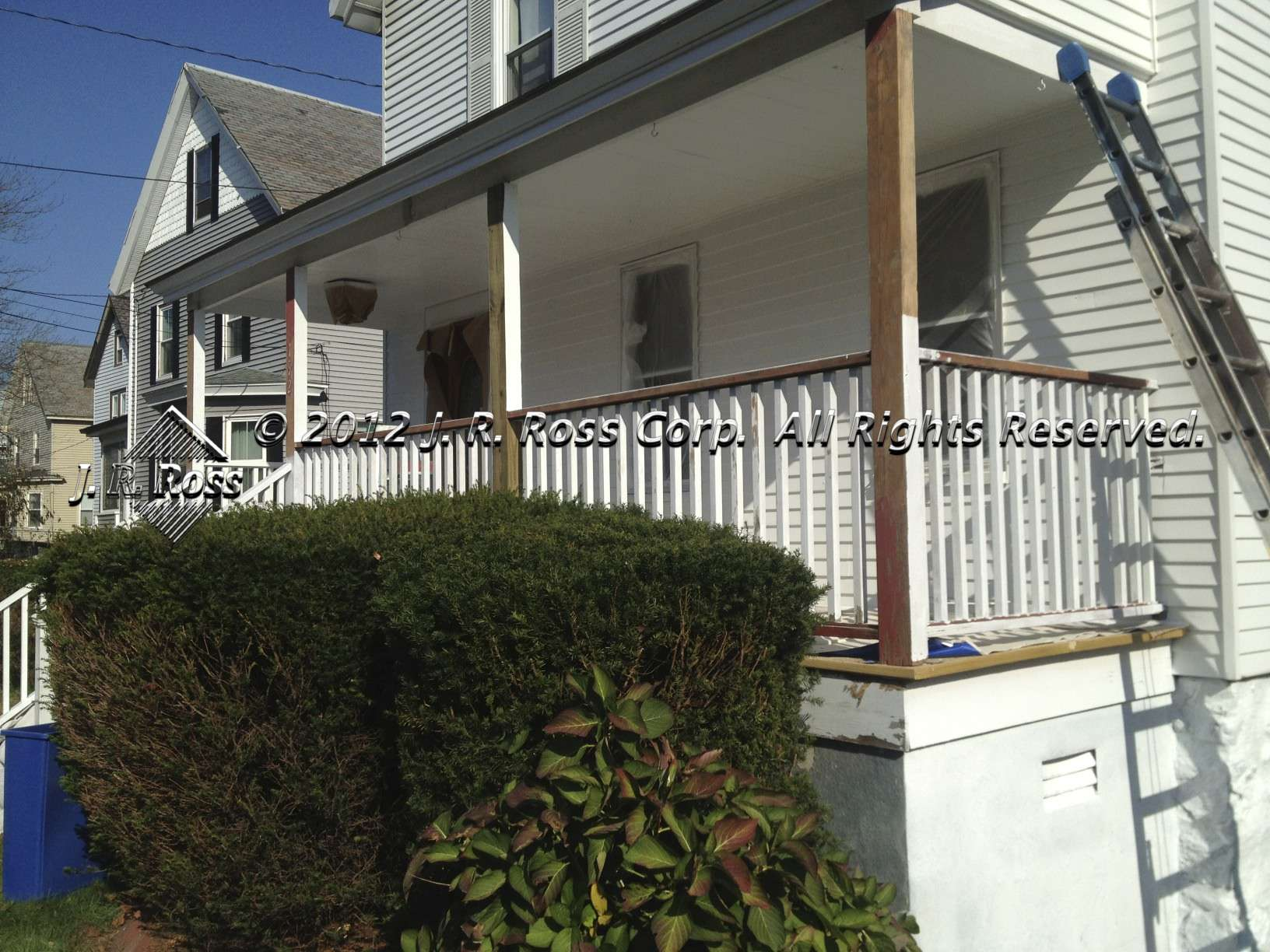 J r ross corp painting contractor for Exterior painting wilmington ma